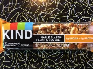 Kind Maple Glazed Pecan and Sea Salt